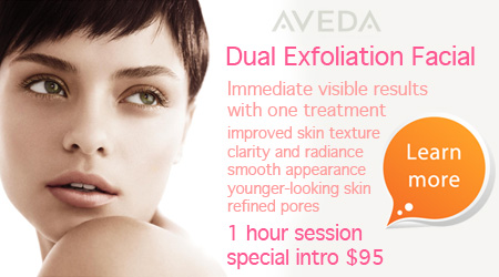 Dual Exfoliation Facial Treatment at an introductory $95