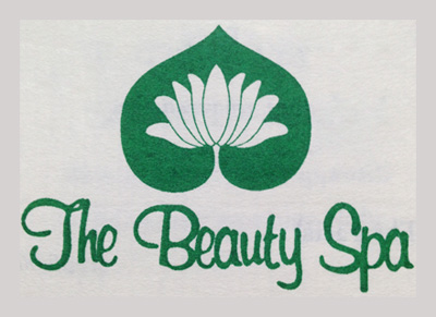 The Beauty Spa, oldest logo, circa 1990